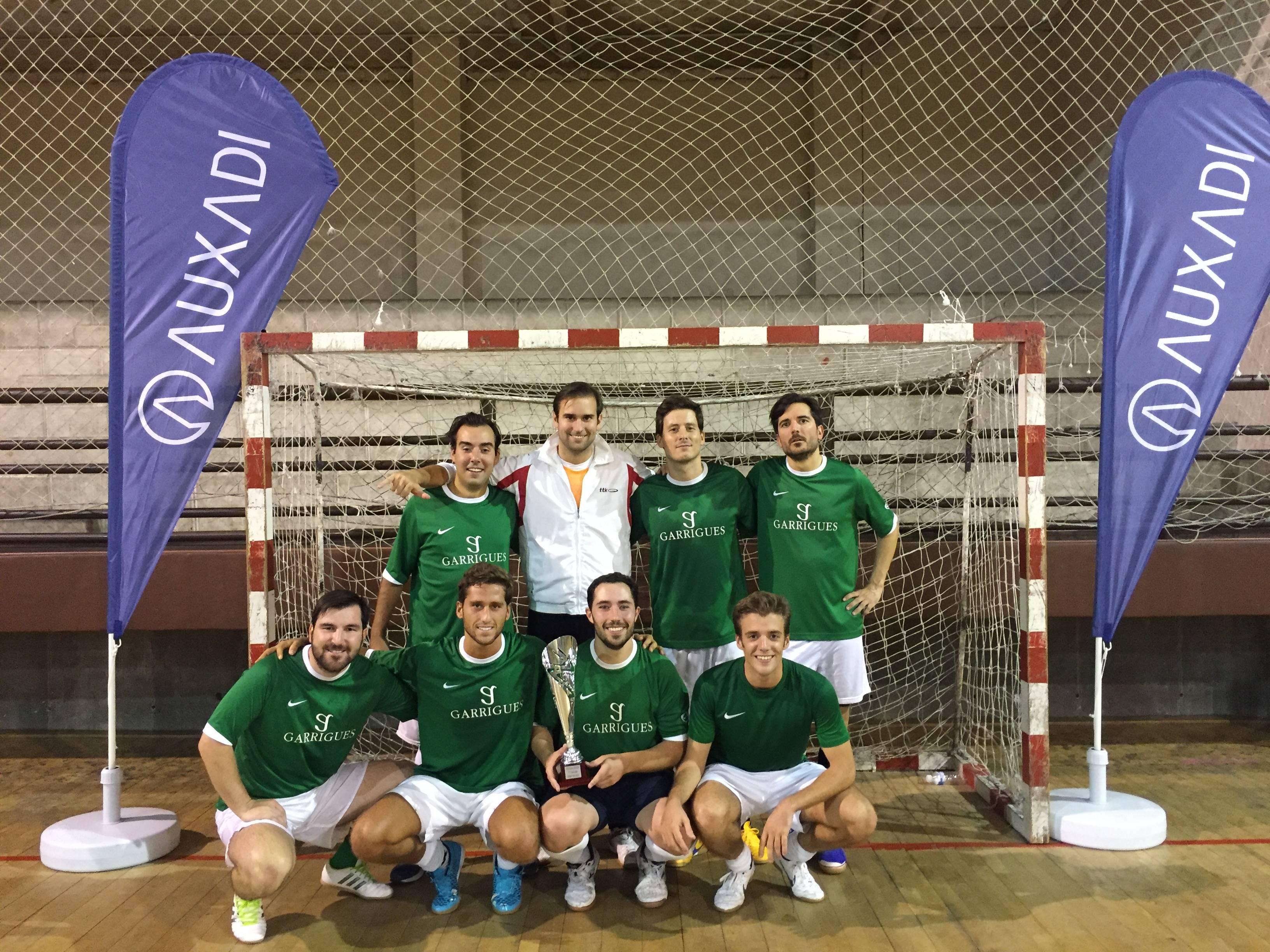 Garrigues ganadores Torneo Auxadi