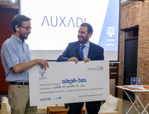 Auxadi raised 22.502 € for the Aleph-Tea Association in its X Solidarity Indoor Soccer Tournament