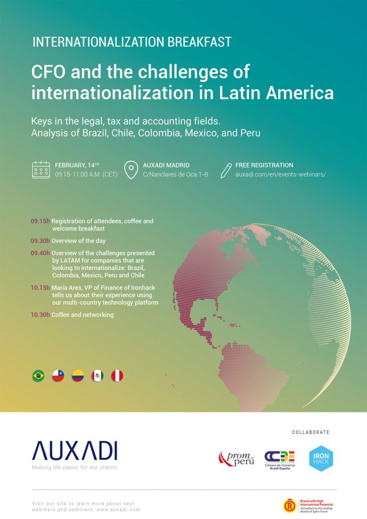 CFO and the challenges of internationalization in Latin America