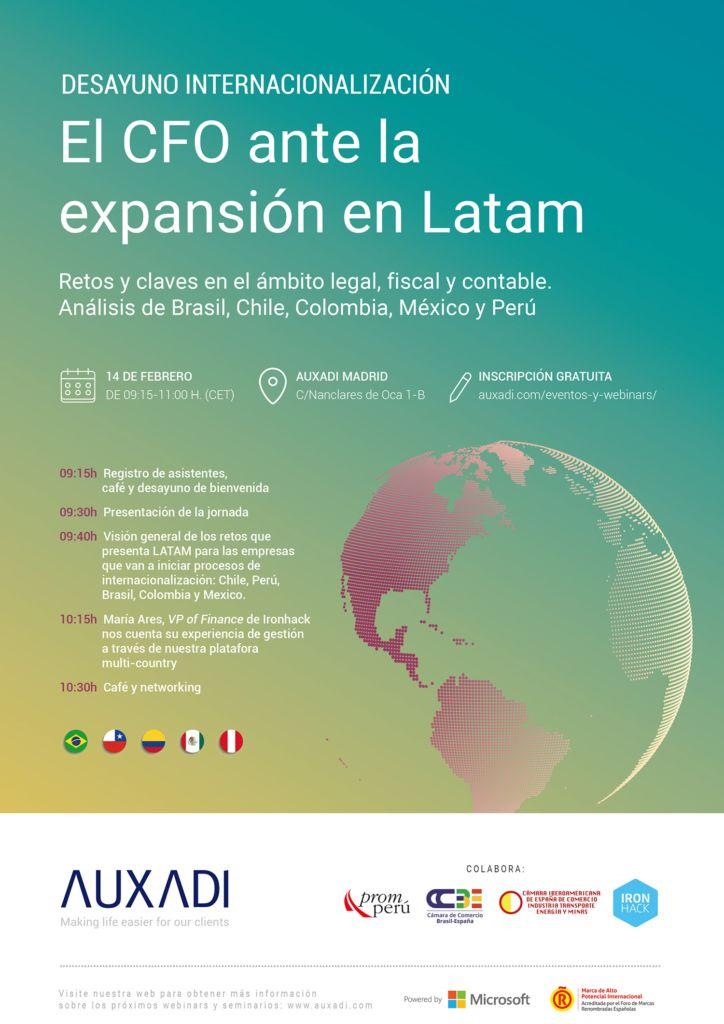 El CFO ante la expansión en Latam