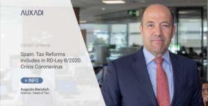 Spain; Tax Updates. RD-Ley 8/2020. Coronavirus