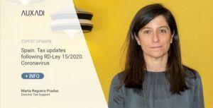 Spain. Tax updates following RD-Ley 15/2020. Coronavirus