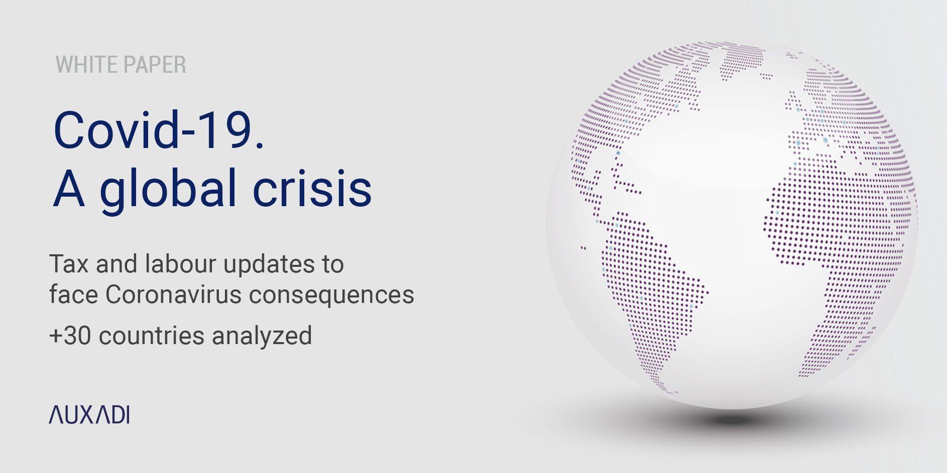 Covid 19 A Global Crisis White Paper New Edition Auxadi