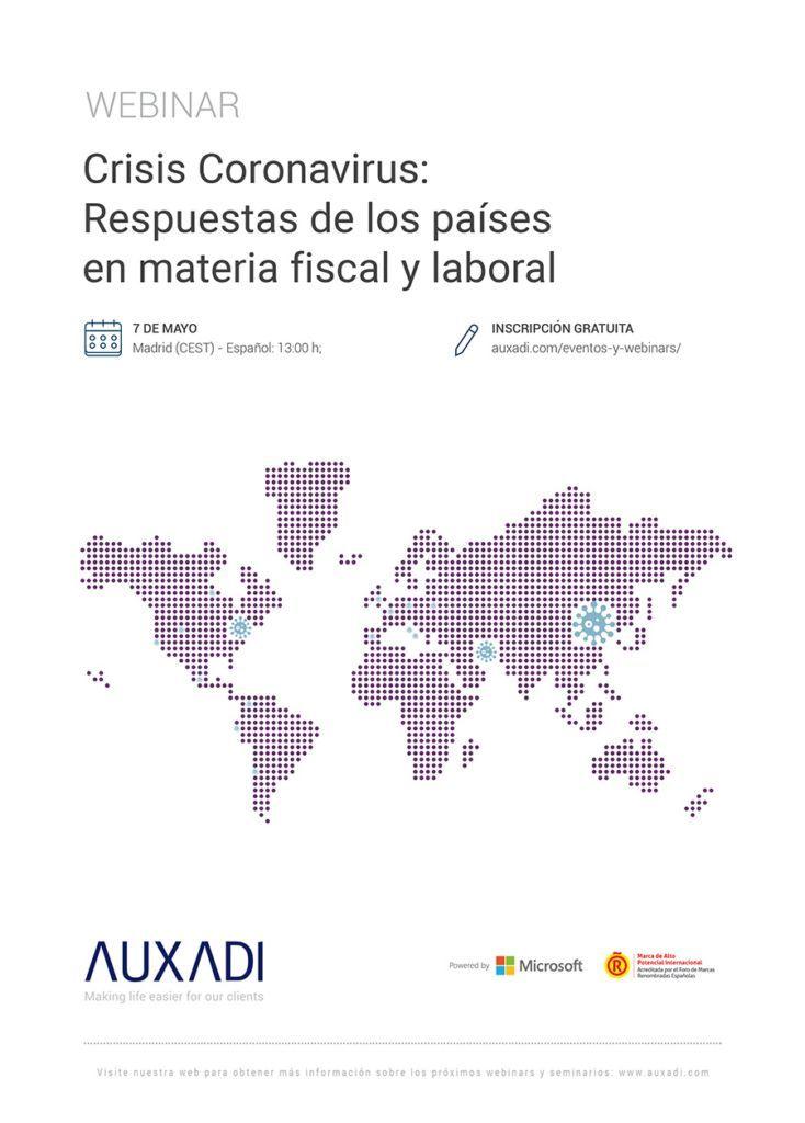 Crisis Coronavirus: Respuestas de los países en materia fiscal y laboral