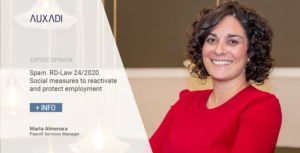 Spain. RD-Law 24/2020. Social measures to reactivate and protect employment