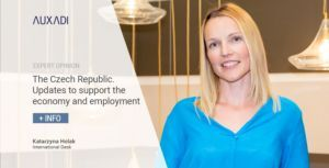 The Czech Republic. Updates to support the economy and employment