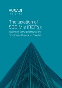 La fiscalidad de las SOCIMIs