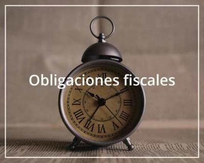 Obligaciones fiscales Auxadi
