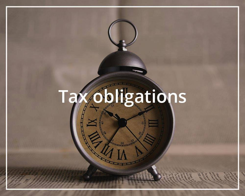 Tax obligations Auxadi